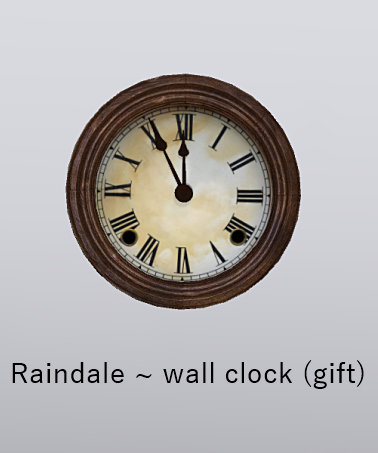 raindale-wall-clock-gift