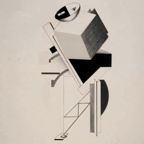 el-lissitzky-_postman_